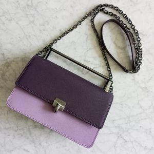 🌼 New Botkier crossbody bag in purple leather
